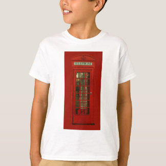 Vintage Red Telephone Box T-Shirt