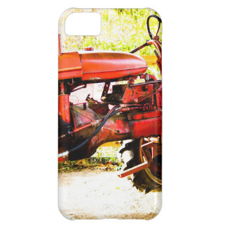 Vintage Red Tractor iPhone 5C Cover