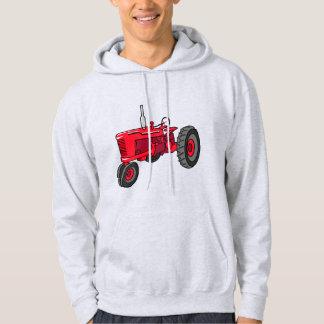 Vintage Red Tractor Hoodie