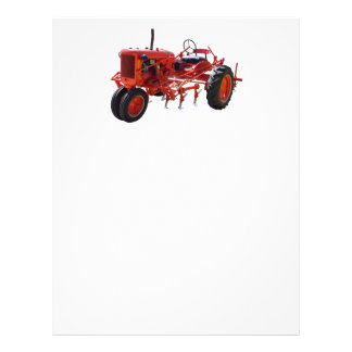 Vintage Red Tractor Letterhead