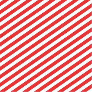 Vintage Red White Girly Stripes Pattern Standing Photo Sculpture