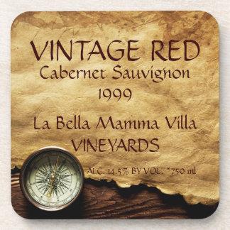 Vintage Red Wine Cork Coaster! Coaster