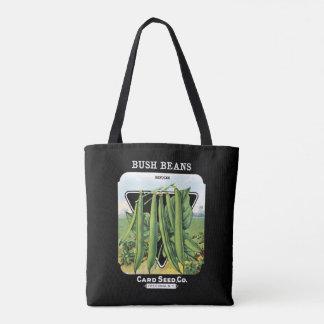 Vintage Refugee Bush Beans Vegetables Fredonia, NY Tote Bag