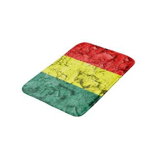 Vintage reggae flag bathroom mat