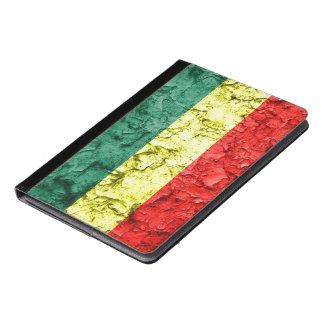 Vintage reggae flag iPad air case