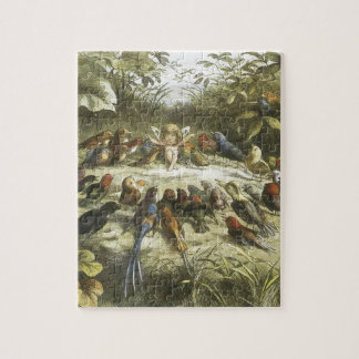 Vintage Rehearsal In Fairyland 1870 Puzzle