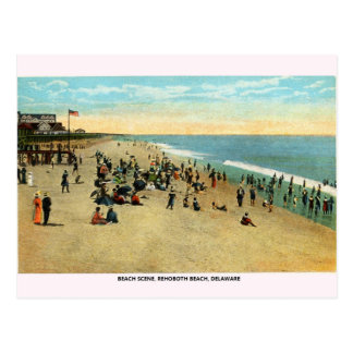 Vintage Rehoboth Beach Delaware Postcard