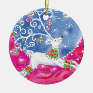 Vintage Reindeer Christmas Ornament
