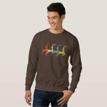 Vintage Reindeer Funny Christmas Gift Shirt