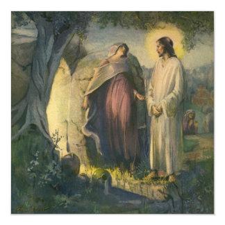 Vintage Religion, Christ Risen by Tomb Invitation