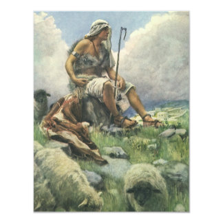 Vintage Religion, David the Shepherd by Copping Card