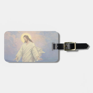 Vintage Religion, Jesus Christ is Walking on Water Luggage Tag