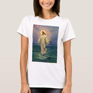 Vintage Religion, Jesus Christ is Walking on Water T-Shirt