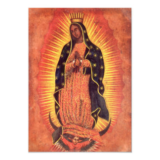 Vintage Religion, Lady of Guadalupe, Virgin Mary Card
