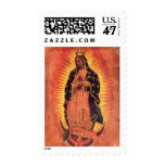 Vintage Religion, Lady of Guadalupe, Virgin Mary Stamp