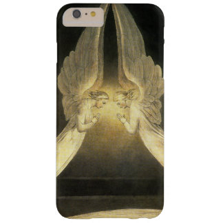 Vintage Religion, Portrait of Angels Praying Jesus Barely There iPhone 6 Plus Case