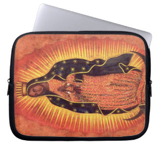 Vintage Religion, Virgin Mary, Lady of Guadalupe Computer Sleeve