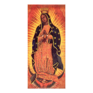 Vintage Religion, Virgin Mary, Lady of Guadalupe Rack Card