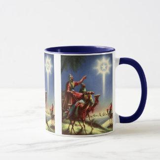 Vintage Religion, Wise Men with Star of Bethlehem Mug