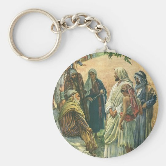 Vintage Religion, Working on Sabbath by Copping Keychain