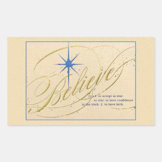 Vintage religious Christmas gift Sticker