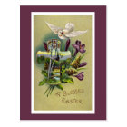 Vintage Religious Easter Cross Postcard