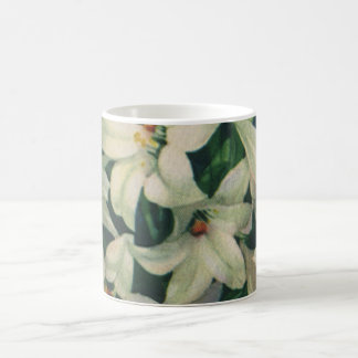 Vintage Religious Easter Greetings, Lily Flowers Coffee Mug