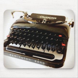 Vintage Remington Rand Old Typewriter Mousepad