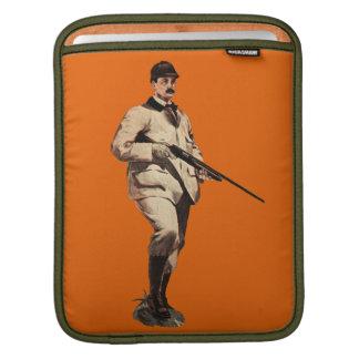 Vintage Remington Shotgun Apple iPad Sleeve Orange