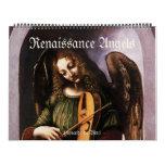 Vintage Renaissance Angels, Antique Fine Art Calendar