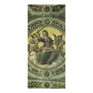 Vintage Renaissance Art, Justice by Raphael Full Color Rack Card