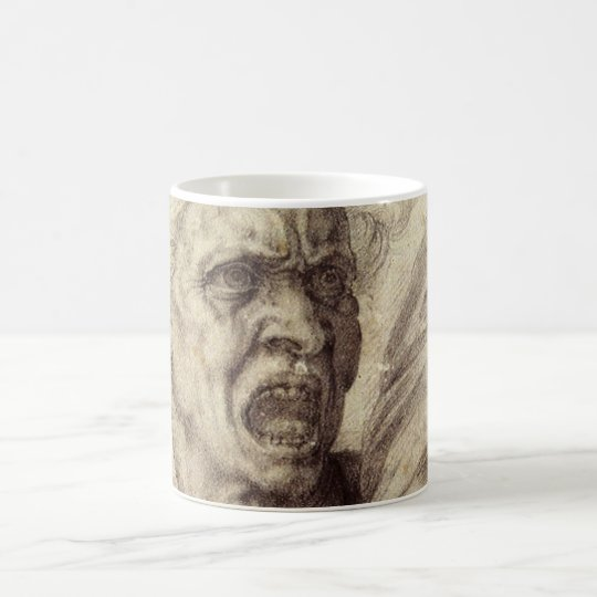 Vintage Renaissance, Damned Soul by Michelangelo Coffee Mug