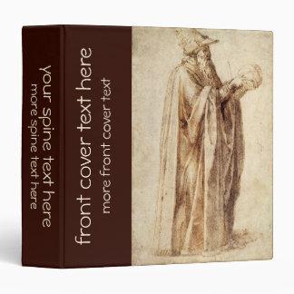Vintage Renaissance, Philosopher by Michelangelo Vinyl Binders