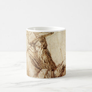Vintage Renaissance, Philosopher by Michelangelo Coffee Mug
