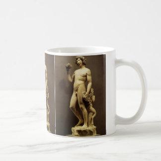 Vintage Renaissance Statue Bacchus by Michelangelo Classic White Coffee Mug