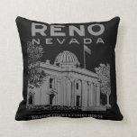 Vintage Reno Nevada Almohadas