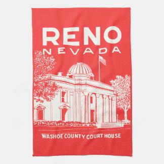 Vintage Reno Nevada Hand Towels