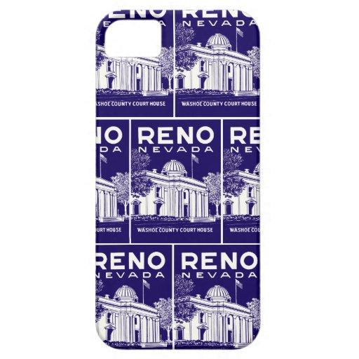 Vintage Reno Nevada iPhone 5 Coberturas