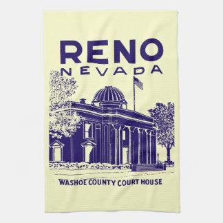 Vintage Reno Nevada Towels