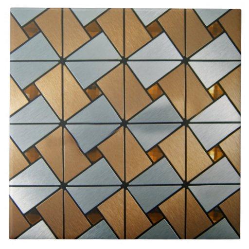 Vintage Reproduction Art Deco Midcentury Modern Tile Zazzle