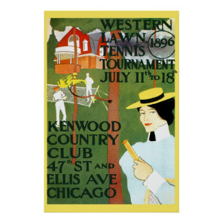 Vintage Reproduction Chicago Poster