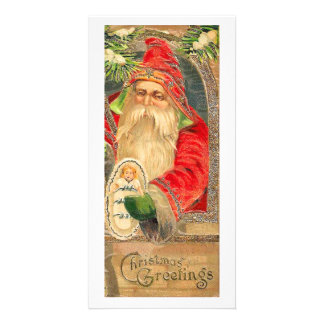 Vintage Reproduction Christmas Art Card