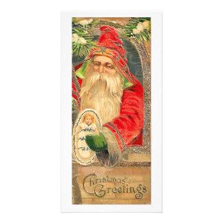 Vintage Reproduction Christmas Art Photo Card