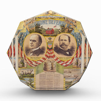 Vintage Republican Party Presidential Campaign Acrylic Award