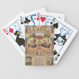 Vintage Republican Party Presidential Campaign Bicycle Playing Cards