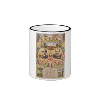 Vintage Republican Party Presidential Campaign Ringer Mug