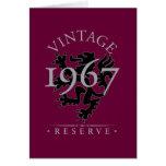 Vintage Reserve 1967 Cards