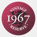 Vintage Reserve 1967 Sticker