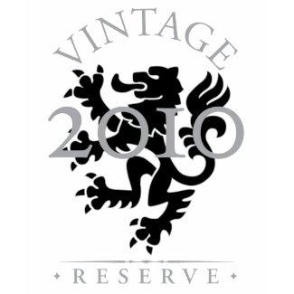 Vintage Reserve 2010 Dark T-Shirt shirt