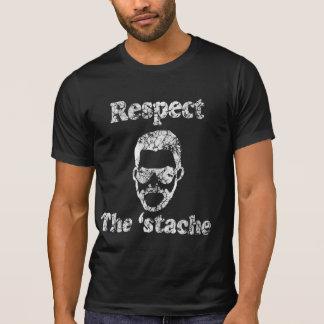 Vintage Respect the Stache 2  Shirt